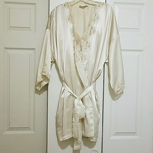VINTAGE Victoria's Secret robe & gown